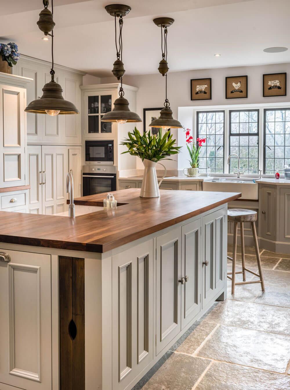 дизайн кухни в частном доме 50 фото самых удачных интерьеров