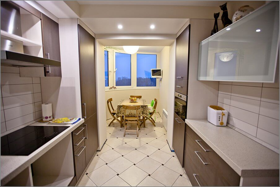 кухня дизайн фото 12 кв м
