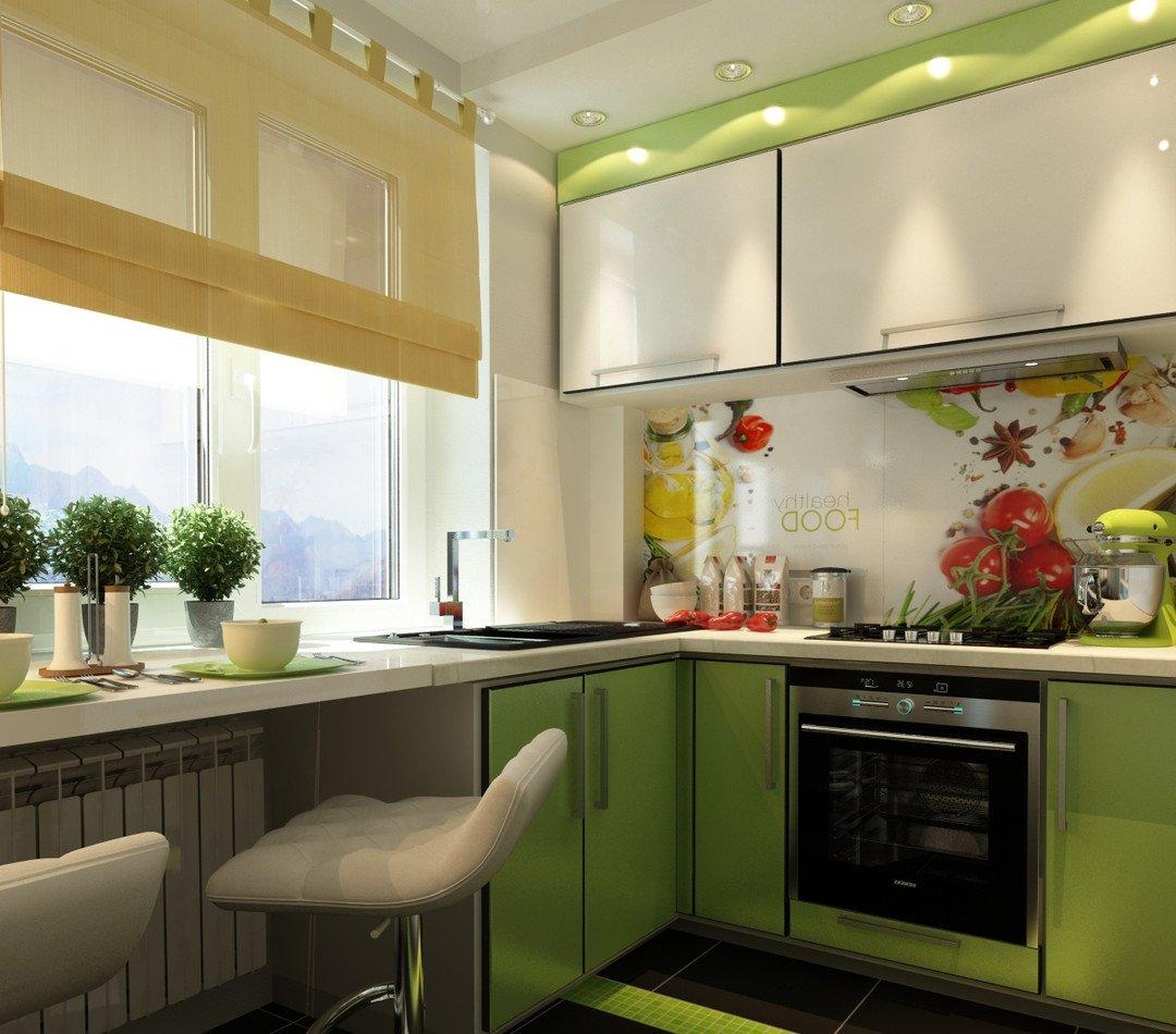 Дизайн маленькой кухни 6 кв. м: фото и 80 комфортных интерье.