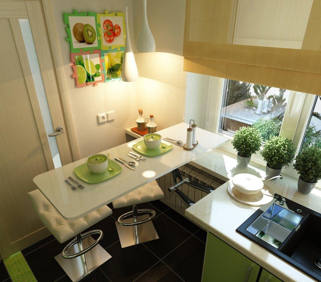 Дизайн кухни столешница напротив окна столешница ольха 555