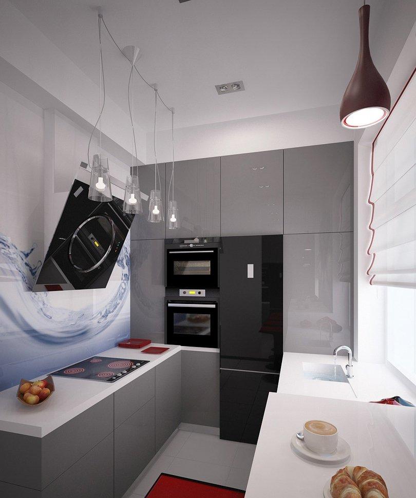 Кухни 6 кв. метров дизайн