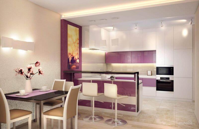 Кухня, совмещенная с гостиной: 10 лучших интерьеров, фото дизайна и советы