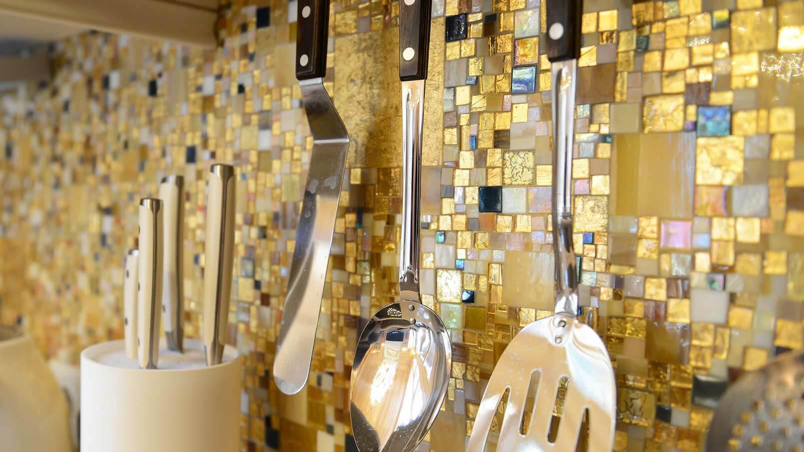 Schürzen für Küche Fliesen Foto