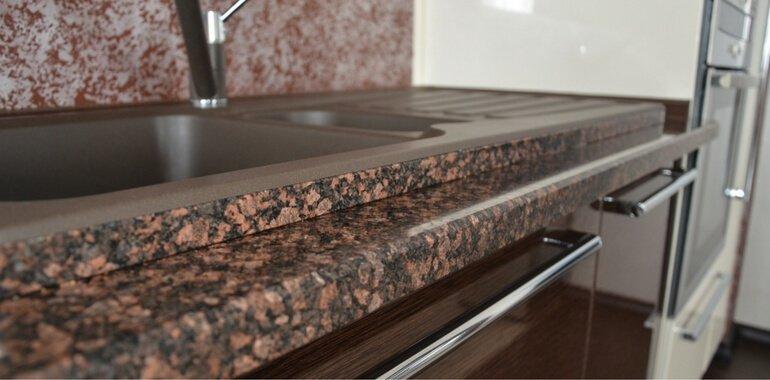 Наливная столешница на полимерной основе столешница для кухни 1200х600 в туле