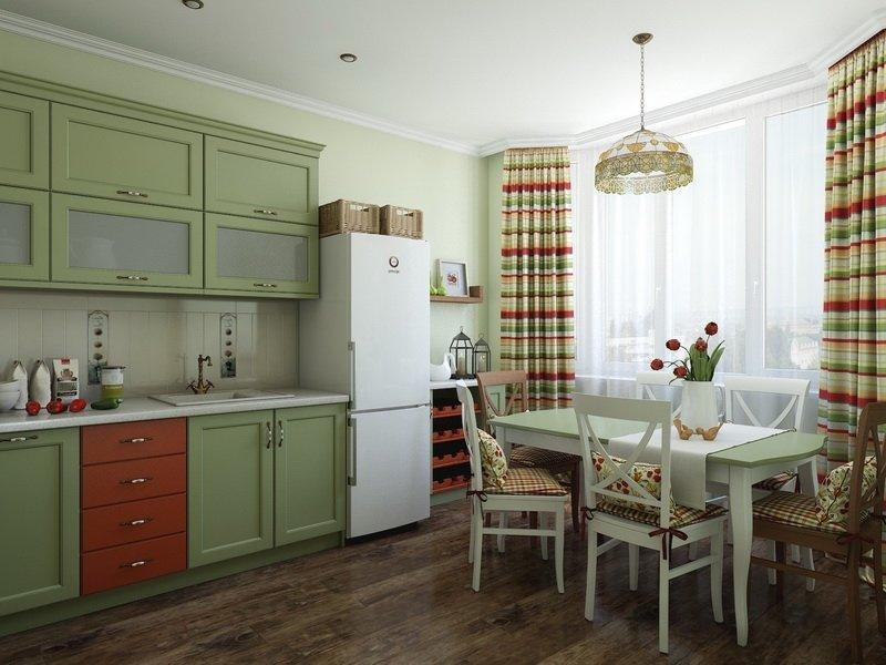 кухни фото оливкового цвета