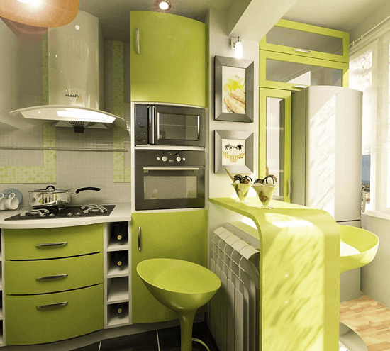 Кухни Фото Дизайн 6 Кв