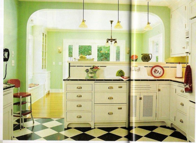 Комбинированный пол на кухне из плитки и ламината фото и