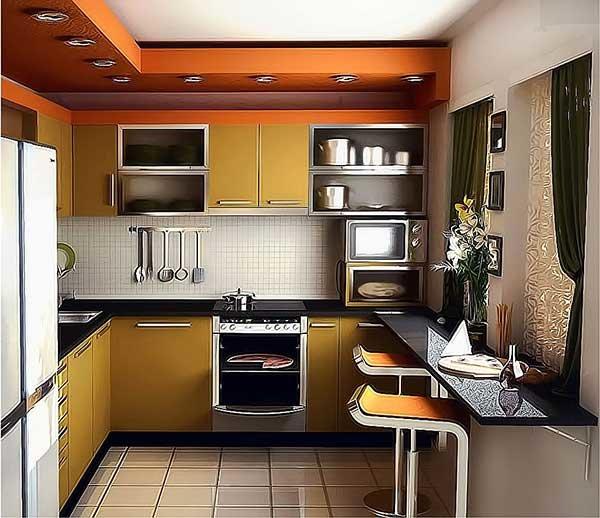 Кухни дизайн 8.5 кв.м