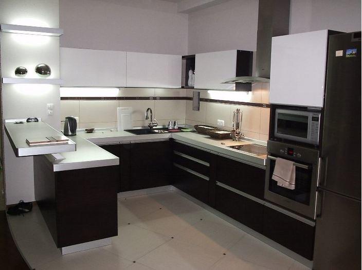 Кухня с барной стойкой 11 кв м дизайн фото