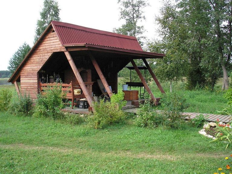 Летняя кухня в частном доме и на даче: как обустроить, фото