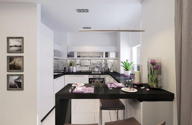Фото стильной мебели для кухни