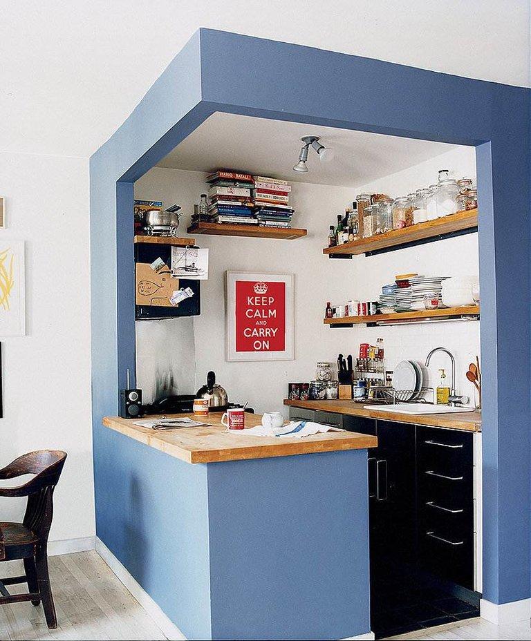 маленькая кухня студия 5 секретов дизайна и фото интерьеров