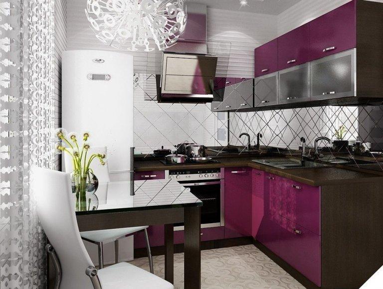 Какой цвет выбрать для кухонного гарнитура по практичному
