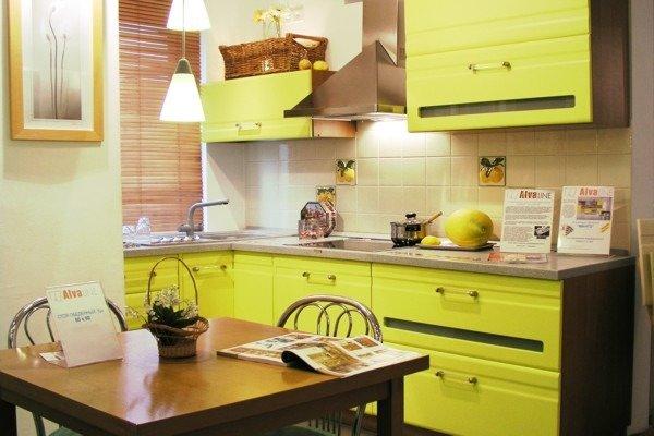 Кухня фисташка цвет