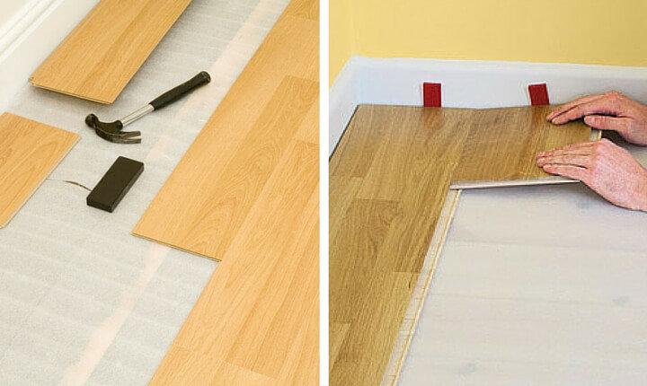 Паркетная доска или ламинат: что лучше для пола на кухне?