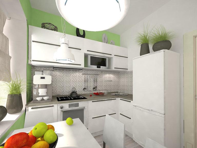 Дизайн интерьера кухни в хрущевке современном стиле фото