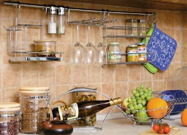 Кухонный рейлинг своими руками
