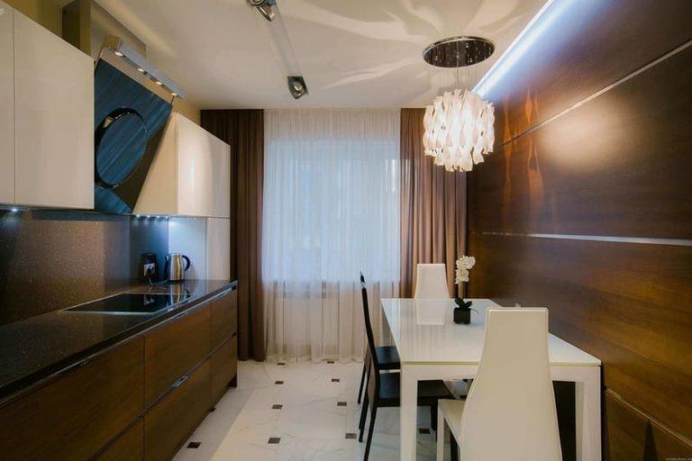 Тюль для кухни: лучшие фото новинок дизайна 2016 года: http://vashakuhnya.com/dekor/tyul-foto-sovremennyh-novinok