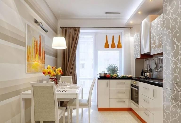 кухня-гостиная дизайн фото 10 кв.м