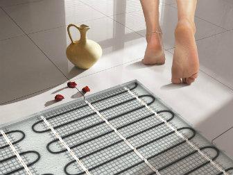 Электрический или водяной теплый пол на кухне: отзывы, плюсы и минусы, сравнение