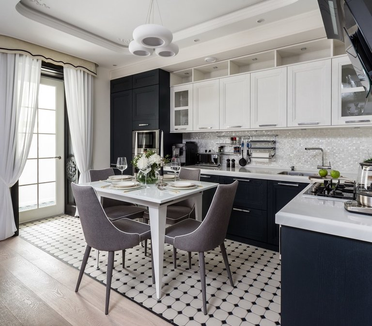 Белая кухня: дизайн и 99 фото кухонных интерьеров в белом цвете