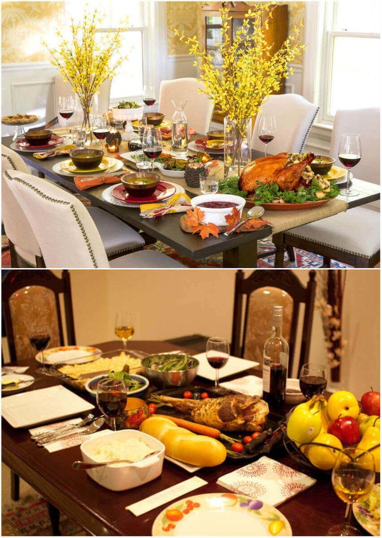 Красиво сервировать стол в домашних условиях 28