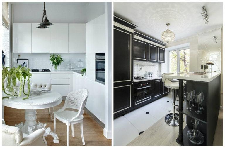 дизайн кухни в хрущевке 15 рабочих идей и 55 фото красивых интерьеров