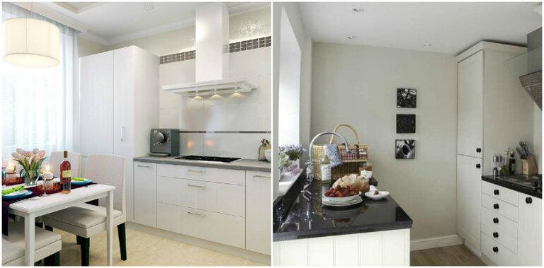кухня без верхних навесных шкафов 10 советов 45 фото удачных