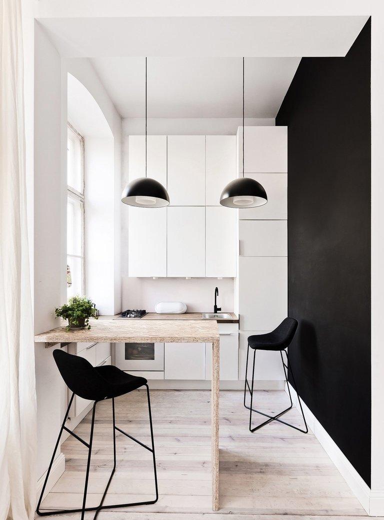 Кухонный гарнитур для маленькой кухни: примеры самых практичных вариантов дизайна