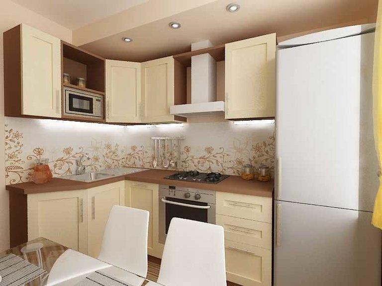 Ремонт кухни 8 квм фото своими руками фото 54