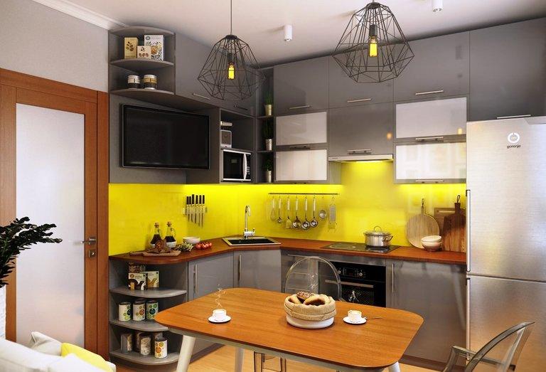 Фартук под светлую кухню фото