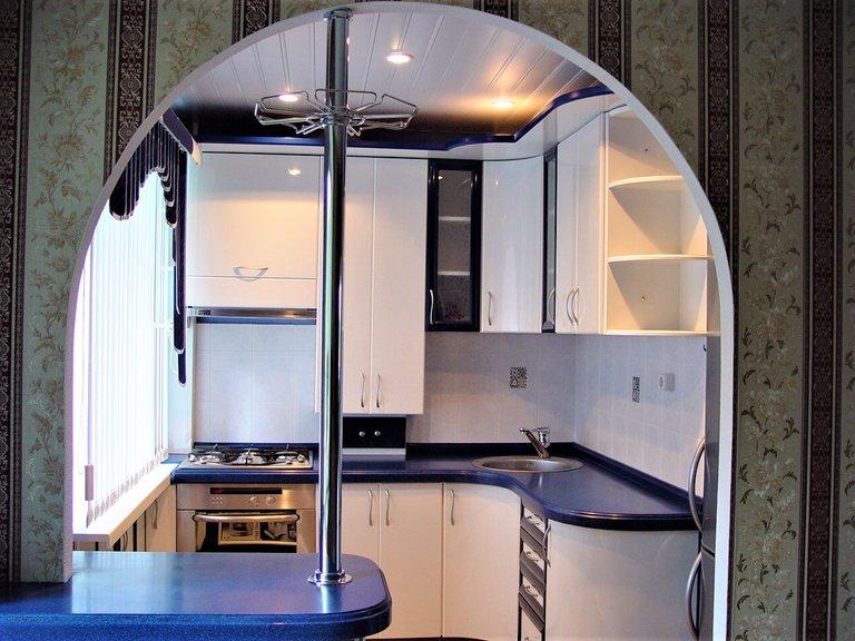 Дизайн кухни 4 кв.м.