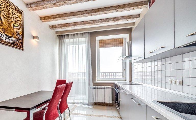 Ausgezeichnet Zeitgenössische Schwarze Küche Vorhänge Bilder ...