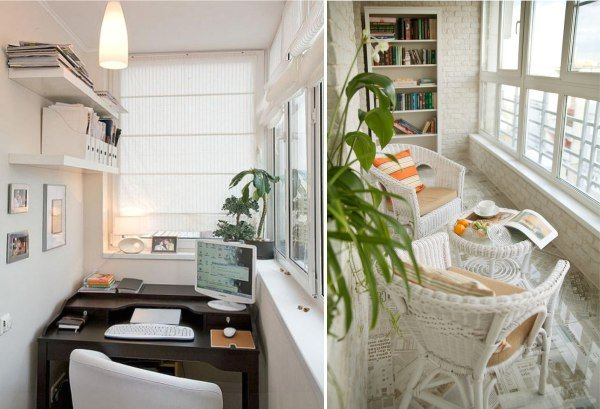 Кухня совмещенная с балконом: фото дизайн-проектов.