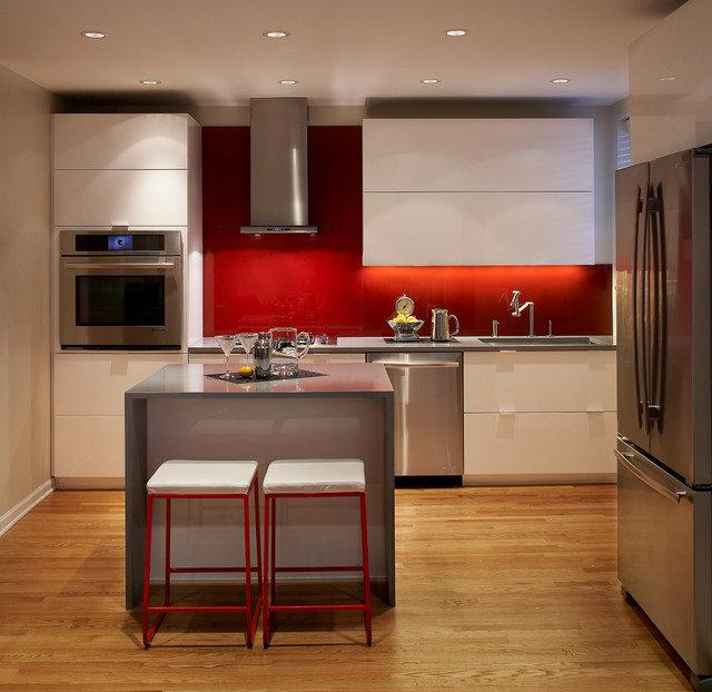 кухня в стиле хай-тек 14 кв.м