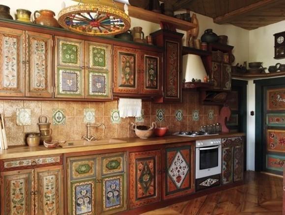 Výsledek obrázku pro кухня в русском стиле