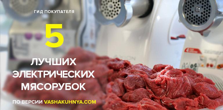 ТОП-5 электрических мясорубок для дома