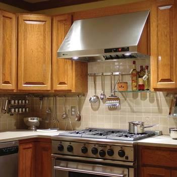 Рейлинги для угловой кухни