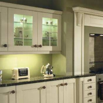 Кухня цвета слоновой кости: фото примеров оформления интерьеров