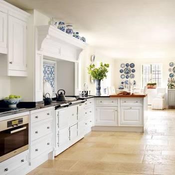 Интерьер кухни в английском стиле - фото дизайна и правила оформления