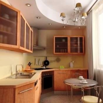 5 причин выбрать натяжное полотно для потолка на кухне