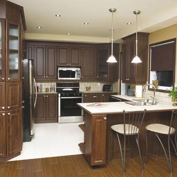 С-образная планировка кухни