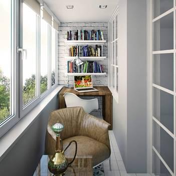 Дизайн кухня, совмещенной с балконом - 77 идей с фото советы дизайнера