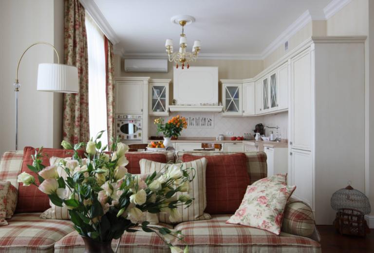Интерьер кухни-гостиной: 100 фото примеров в частном доме и квартире   Кухня, совмещенная с гостиной: 100 лучших интерьеров, фото дизайна и советы