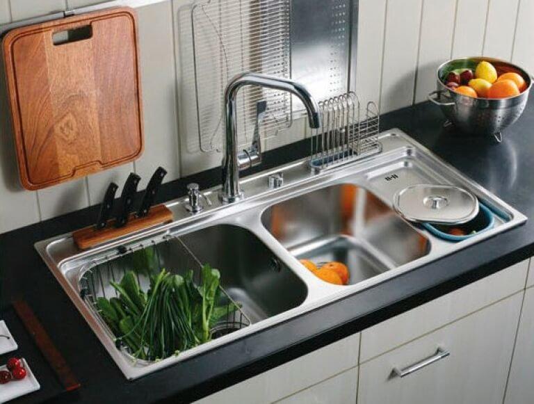 Sinki Dapur Keluli Tahan Karat 314167 Info