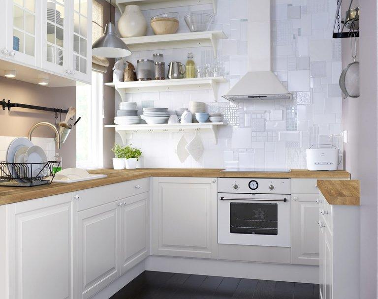 Маленькие угловые кухни на заказ: фото дизайн, купить недорого Москва   608x768