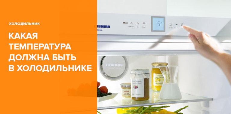 Какая температура должна быть в холодильнике - Мнение специалистов
